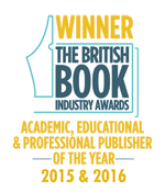 Bookseller Academic, Educational and Professional Publisher of the year winner 2015 and 2016