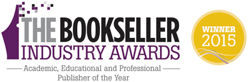 Bookseller Academic, Educational and Professional Publisher of the year winner 2015