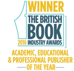 Bookseller Academic, Educational and Professional Publisher of the year winner 2016
