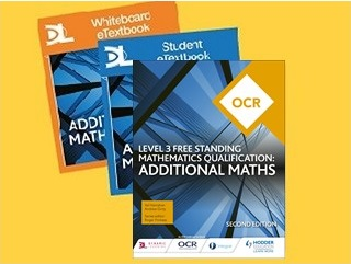 OCR Level 3 Free Standing Mathematics Qualification: Additional Maths