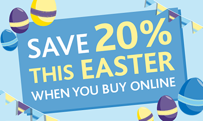 Save 20% this Easter!