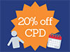 20% off CPD