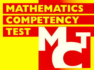 Mathematics Competency Tests