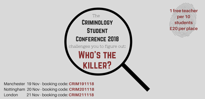 The Criminology Student Conference