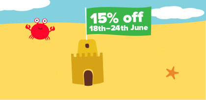 15% off for one week only!