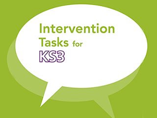 Intervention Tasks for KS3