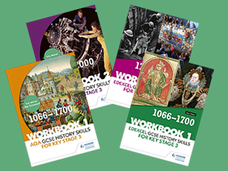 GCSE History skills for Key Stage 3 Workbooks