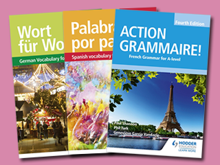 A-level Languages Grammar and Vocabulary books - Resources