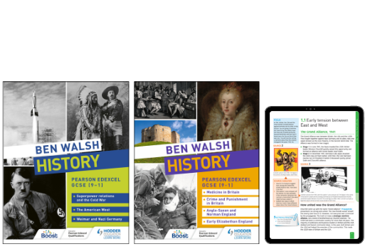 Ben Walsh History: Textbooks and eBooks for Pearson Edexcel GCSE History