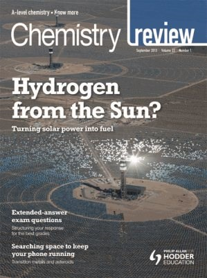 Hodder Education Educational Magazines Chemistry Review Extras