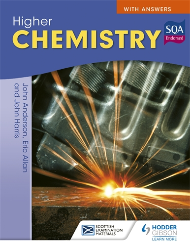 Higher chemistry for cfe with answers hodder education higher chemistry for cfe with answers fandeluxe Image collections