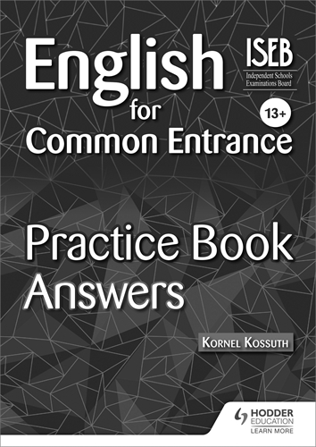 The new 13+ maths practice book for the common entrance exams with.