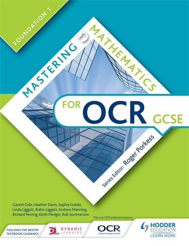 Hodder Education - Mastering Mathematics for OCR