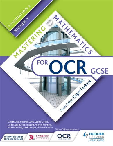 Mastering Mathematics for OCR GCSE: Foundation 2/Higher 1