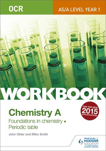Hodder education student workbooks to build student understanding ocr asa level year 1 chemistry a workbook foundations in chemistry periodic urtaz Image collections