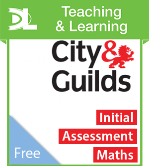 a68921586f4 City   Guilds e-Functional Skills  Maths Initial Assessment Teaching and  Learning Resources