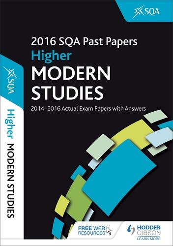 Write higher modern studies essay