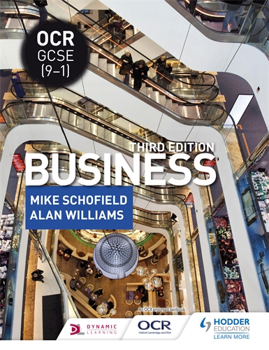 Hodder education business and accounting ocr gcse 9 1 business third edition fandeluxe Gallery