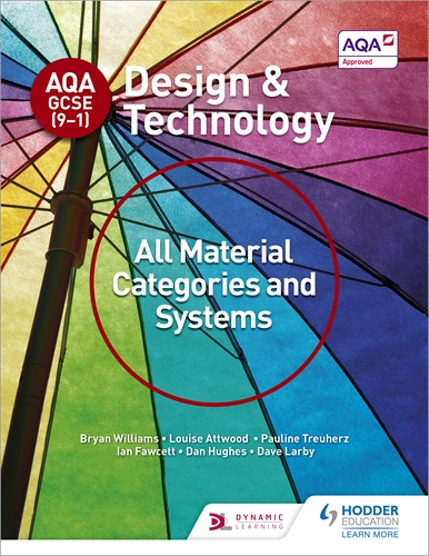 AQA GCSE (9-1) Design and Technology: All Material