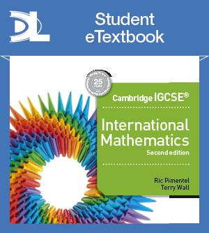 Cambridge IGCSE and O Level Additional Mathematics Student Etextbook