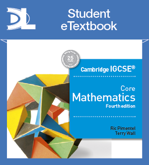 Cambridge IGCSE Maths Workbooks and Resources