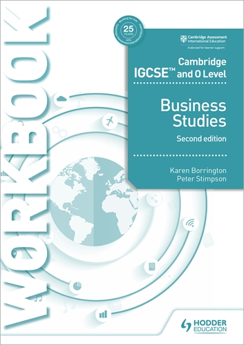 Hodder education international curricula workbooks and resources cambridge igcse and o level business studies workbook 2nd edition fandeluxe Image collections