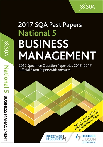 sqa past papers business management general