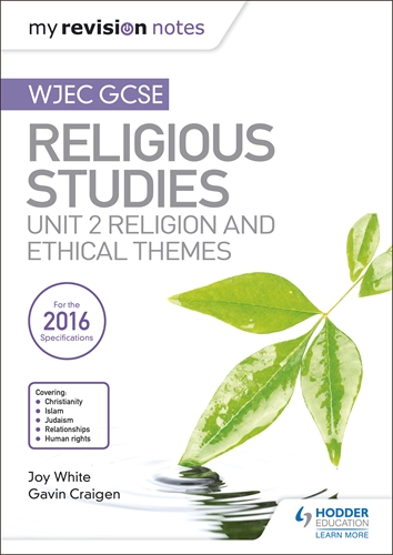 My revision notes: wjec and eduqas a level religious studies.