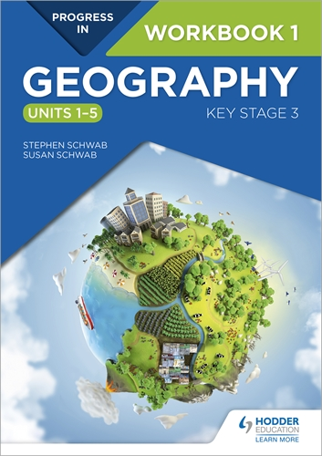 Hodder education progress in geography workbook key stage 3 textbooks progress in geography key stage 3 workbook 1 pack of 10 gumiabroncs Choice Image