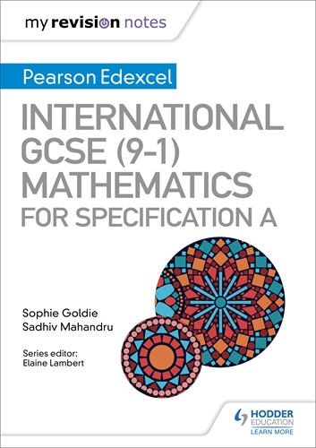 My Revision Notes: International GCSE (9-1) Mathematics for Pearson