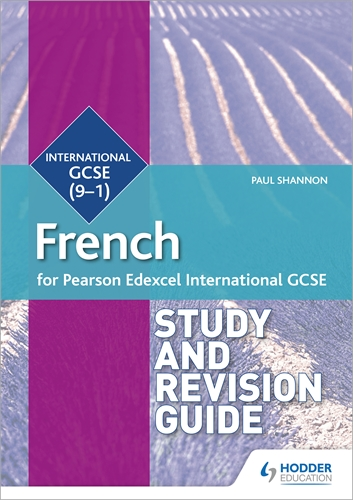 Pearson Edexcel International GCSE French Study and Revision